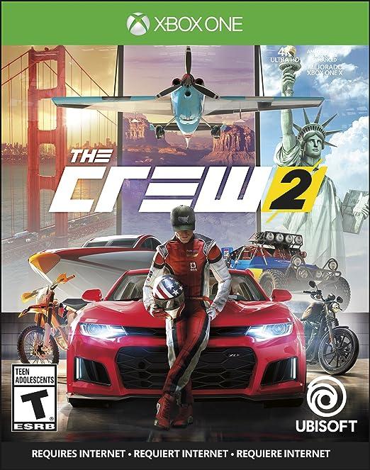 Amazon Com The Crew 2 Xbox One Video Games