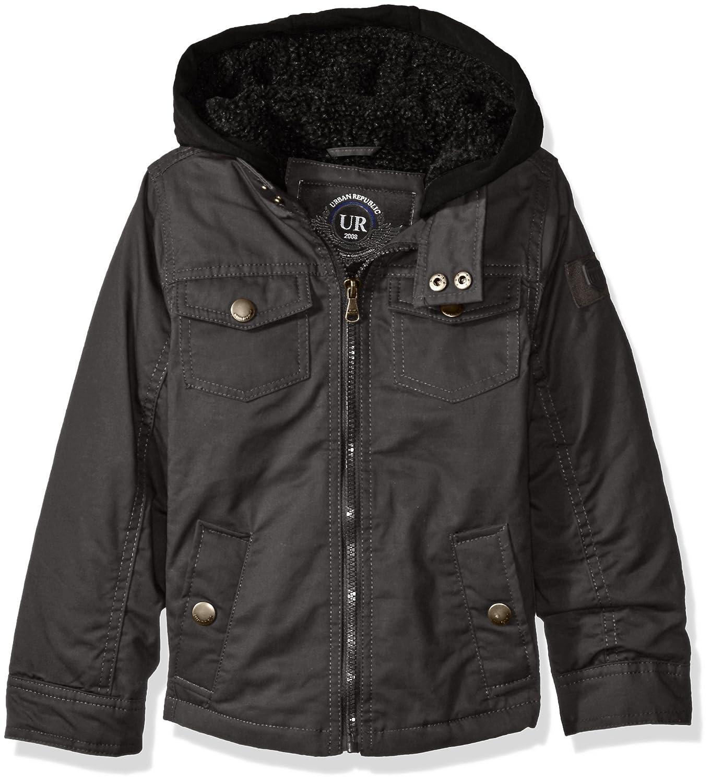 1d275aafaeaf Amazon.com  Urban Republic Boys  Washed Cotton Twill Jacket with ...