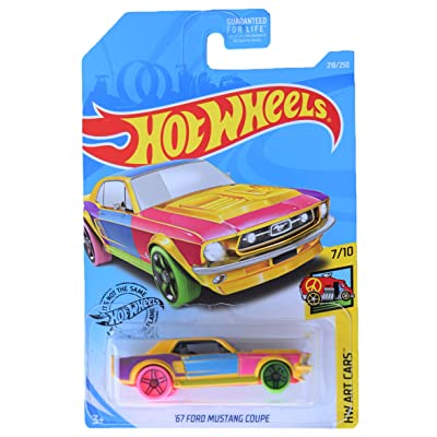 Hot Wheels '67 Mustang Coupe 218/250, Multi Color: Toys & Games