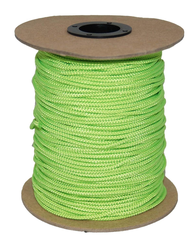 Evans Cordage Co. 300-Feet T.W Evans Cordage 70-201NG Sidewall Lacrosse String Neon Green T.W