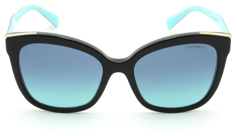 75ac7862840 Amazon.com  Tiffany   Co. TF 4150 Women Square Gradient Sunglasses 80019S   Clothing