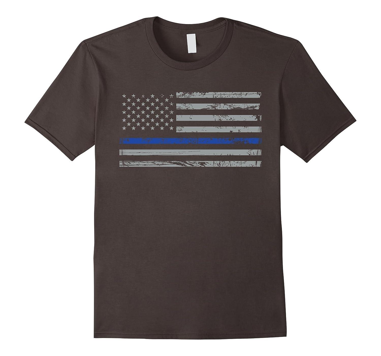 Navy Lives Matter Tshirt Thin Blue Lives Line Flag T-shirt