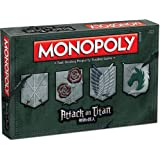 MONOPOLY: Attack on Titan Board Game by USAopoly