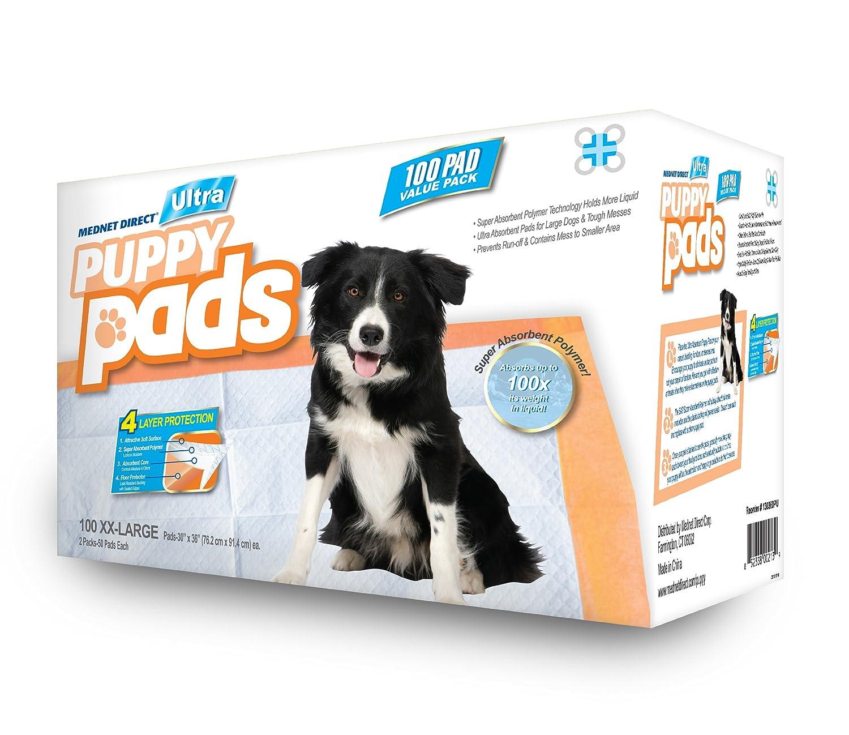mednet direct 30 x 36 xxl large ultra puppy pads