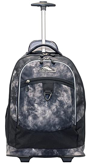 8bdbed1c96a5 Amazon.com  High Sierra Chaser Wheeled Backpack (Atmosphere Black ...
