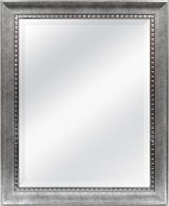 MCS 22x28 Inch Slope Mirror, 27.5x33.5 Inch Overall Size, Silver (20564)