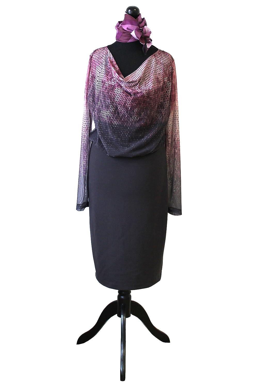Etuikleid mit passendem Halstuch | Anna Scott | JUUCCO Collection (Größe: 38)