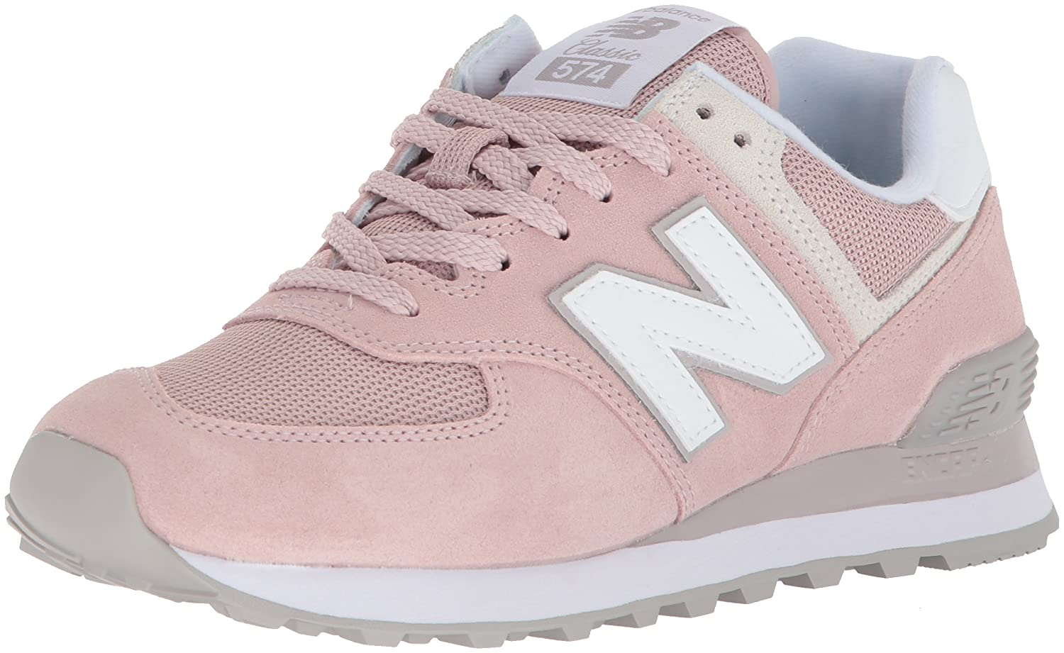 New Balance Women's 574v2 Sneaker B071P9B8ZJ 9.5 D US|Faded Rose/Overcast