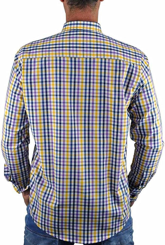 SCOTT MILLER London Camisa Mod. Dash (S, Amarillo): Amazon.es: Ropa y accesorios