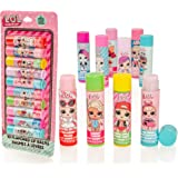 MGA Entertainment Palitos de bálsamo Labial con Sabor a Paquete LOL Surprise, Juego de Brillo de Labios para niñas