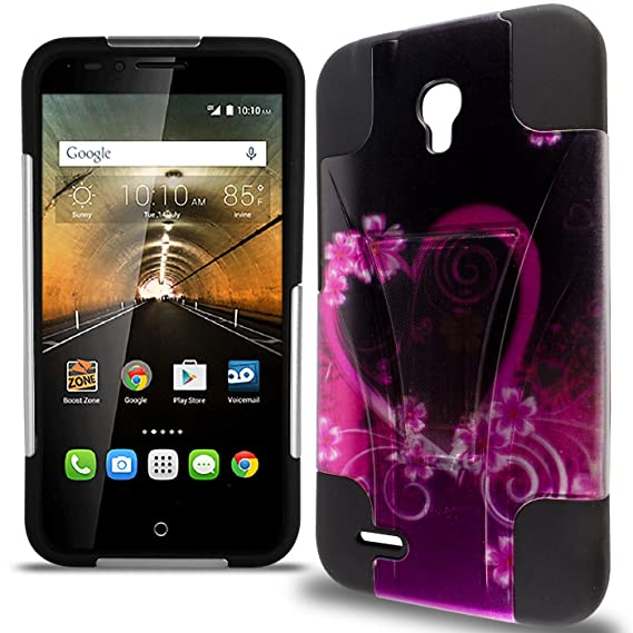 sports shoes cda5a a6341 Alcatel Go Play Case, One touch Conquest Case, CoverON Dual Defense Rugged  Dual Layer Design Tough Protective Phone Cover Case for Alcatel One Touch  ...