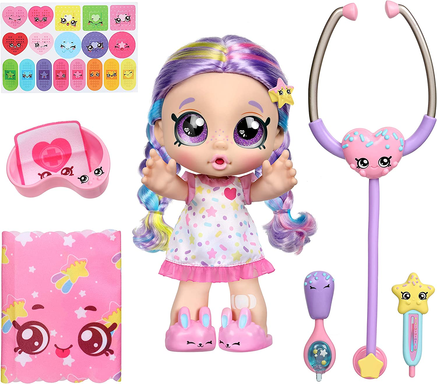 Kindi Kids Toddler Doll – Shiver and Shake Rainbow Kate – Interactive Talking Toy with Shopkins Accessories 25% OFF £29.99 @ Amazon