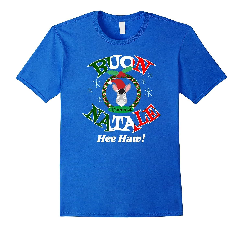 Dominick Christmas Donkey T-shirt Buon Natale Xmas Gift-Art