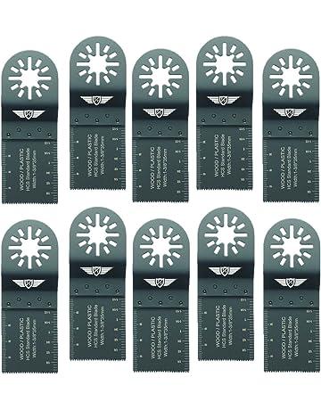 cuchillas de sierra oscilantes de corte de madera cuchilla de sierra multiherramienta 20 piezas Juego de cuchillas multicortadoras universales kit de accesorios para reparar cortes