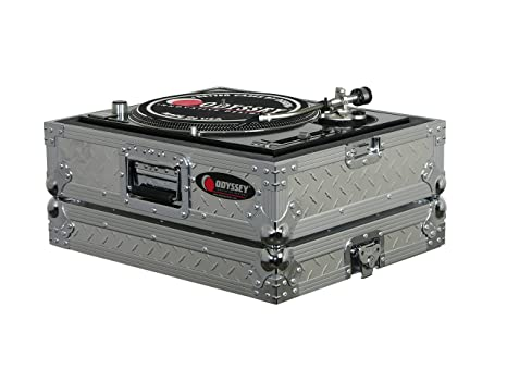 Odyssey ftt-dia Pro Diamond Plate Funda Universal para tocadiscos ...