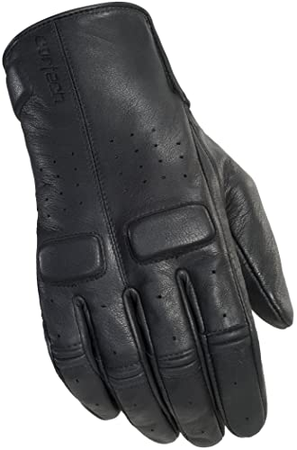 Cortech Heckler Leather Motorcycle Gloves