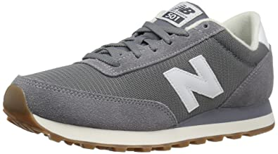 best sneakers ccb95 a7d6b New Balance Men s ML501 Sneaker, Grey White, 8 D US
