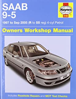 saab 9 5 1997 to sep 2005 haynes service and repair manuals a k rh amazon com 2011 Saab 9 5 Parts Saab 9-5 Intercooler