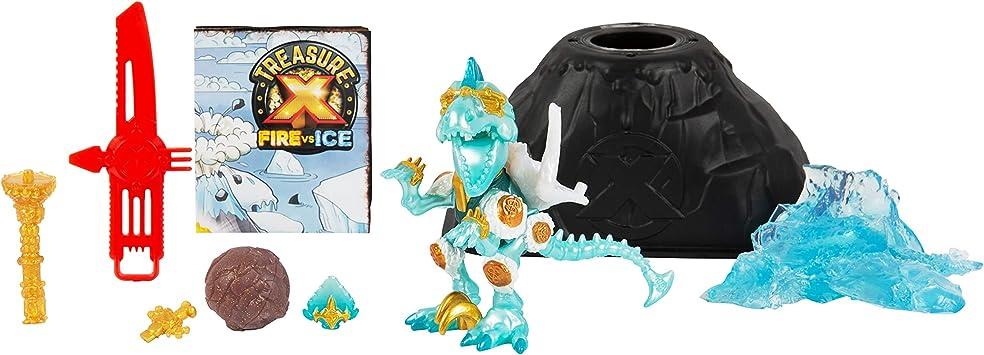 Treasure X Beast Sigle Pack. Fire VS Ice 6 nuevas Dino Bestias ...