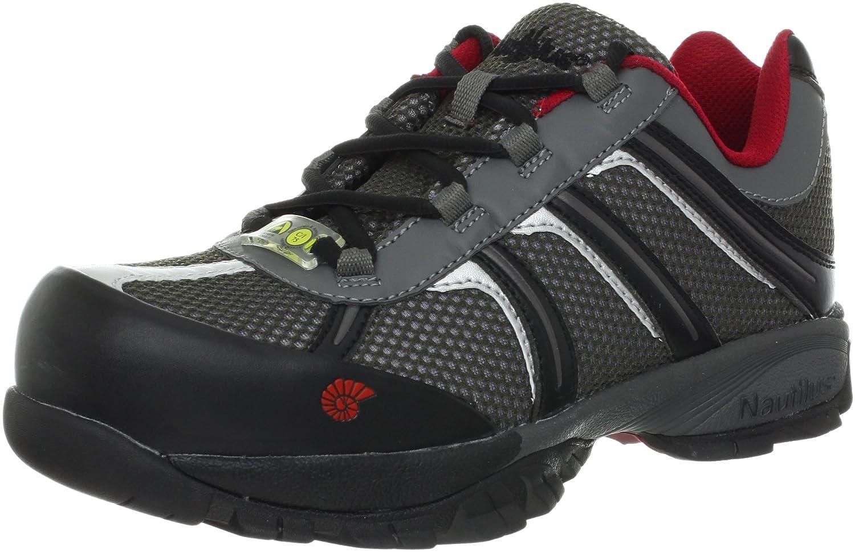 Nautilus Safety Footwear メンズ B005BK5NHO 8 3E US|グレー/ブラック グレー/ブラック 8 3E US