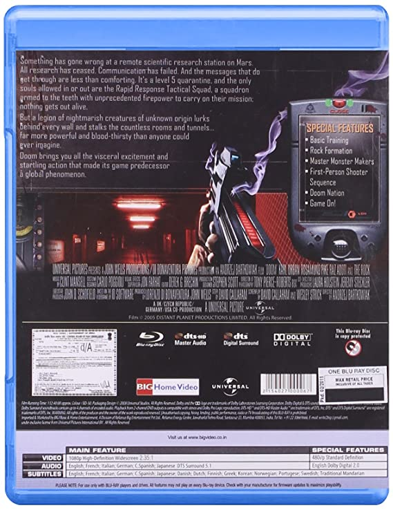 Amazon in: Buy Doom DVD, Blu-ray Online at Best Prices in India