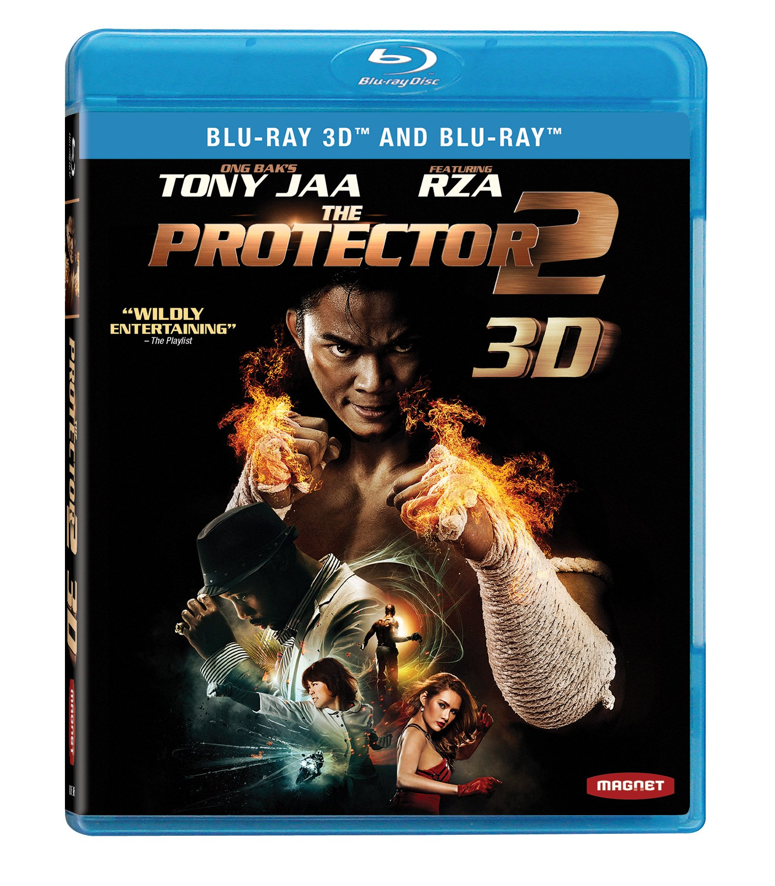 Blu-ray 3D : The Protector 2 (AC-3, 2 Pack, Dubbed, , Widescreen)