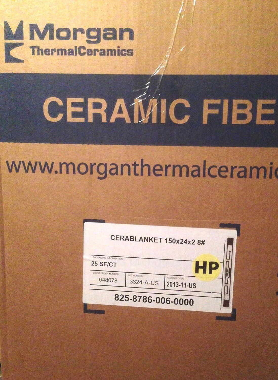 Morgan Thermal Ceramics Amazoncom Morgan Thermal Ceramic Fiber Insulating Blanket Roll 2