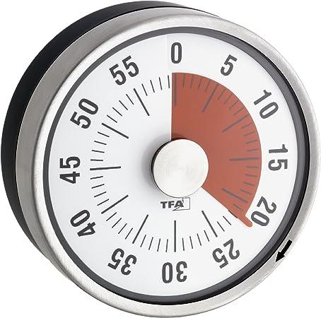 TFA 38.1028.10 colore Timer da cucina Puck Antracite