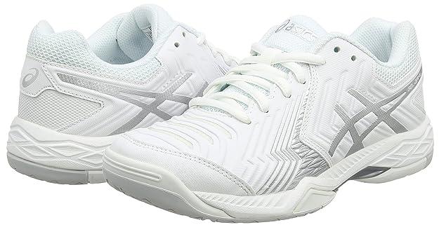 watch 61ebf 1eb71 ASICS Gel-Game 6, Chaussures de Tennis Femme, Blanc Cassé (White Silver),  44 EU  Amazon.fr  Chaussures et Sacs