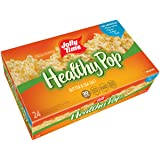 JOLLY TIME Healthy Pop Butter | Whole Grain 94% Fat Free Lightly Butter Popcorn (24 Count Box)