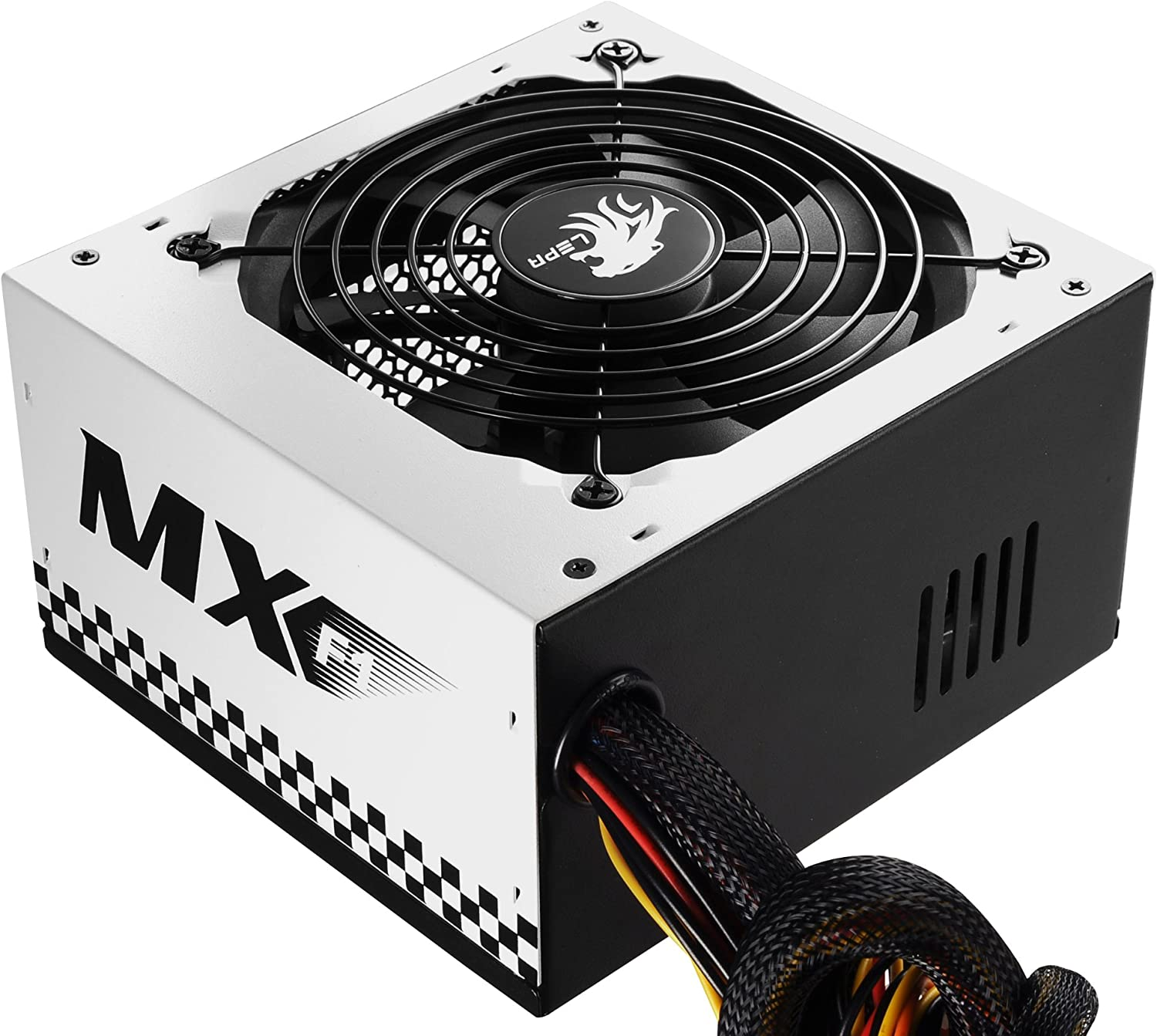 N600-SB LEPA N Series MX-F1 600W ATX Racing Car Style Coating Power Supply with Extremely Silent Fan