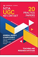 20 Practice Papers- General Paper 1 (Teaching and Research Aptitude): UGC NET/JRF for 2020 Examination Kindle Edition