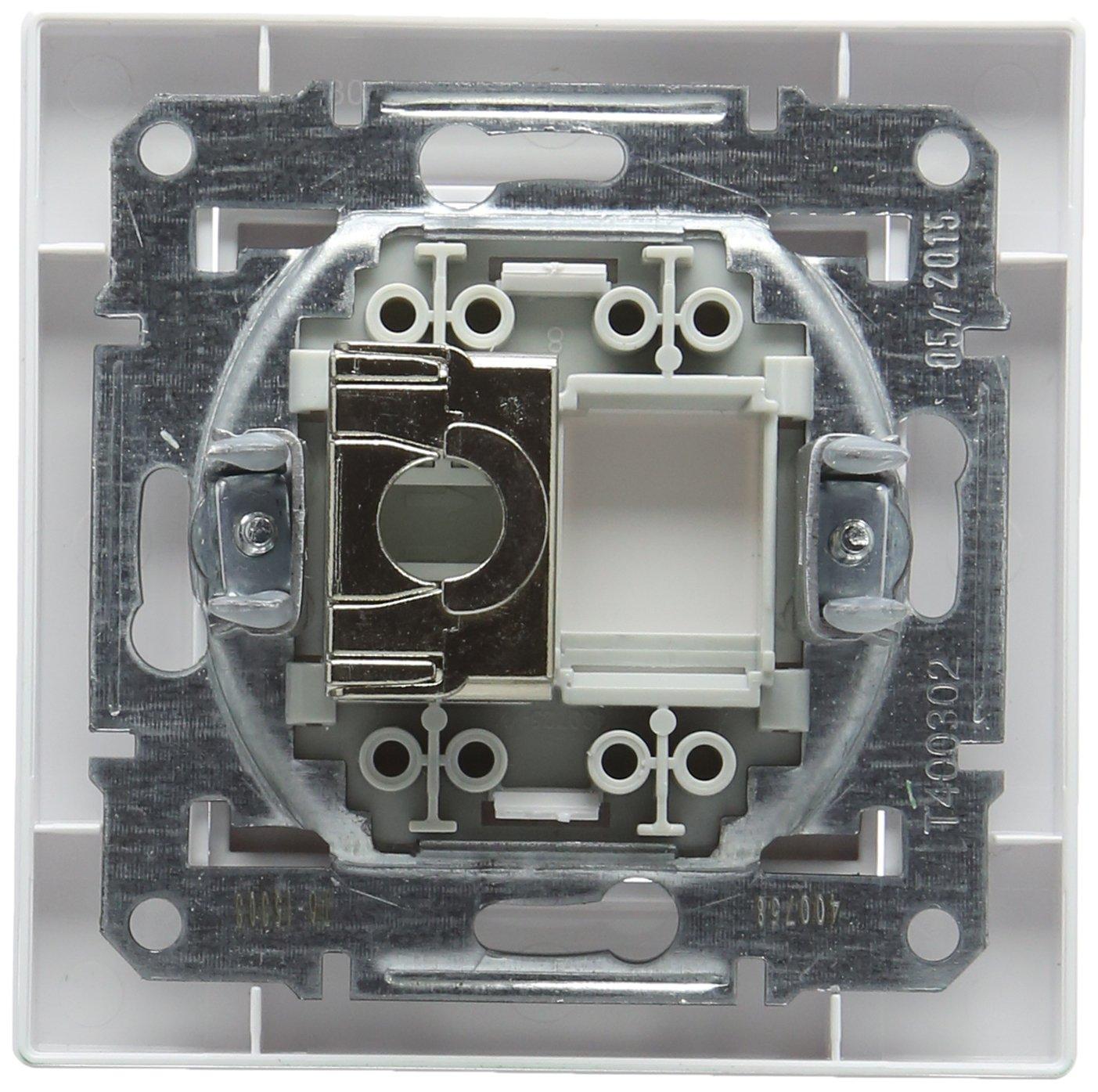 Schneider electric SC5EPH5003121 - Asfora rj45, komplettset ras: Amazon.es: Bricolaje y herramientas