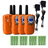 Amazon Price History for:Swiftion T-388 Kids Walkie Talkies 22 Channel 0.5W FRS/GMRS 2 Way Radios with Charger and Rechargeable Batteries (Bright Orange, Pack of 4)