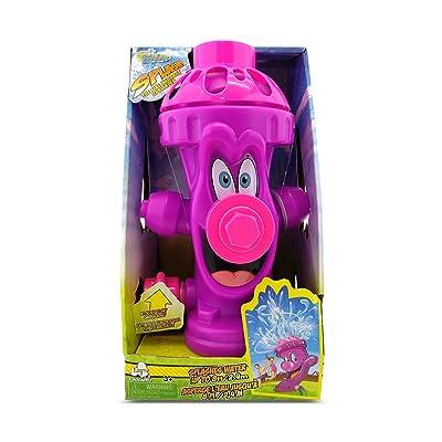 Kids Sprinkler Fire Hydrant, Attach Water Sprinkler for Kids to Garden Hose for Backyard Fun, Splash All Summer Long, Sprays Up to 8 Ft.(Purple): Toys & Games
