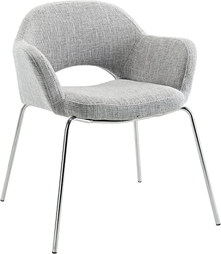 Modway EEI-623Cordelia Mid-Century Modern Upholstered Fabric Dining Arm Chair