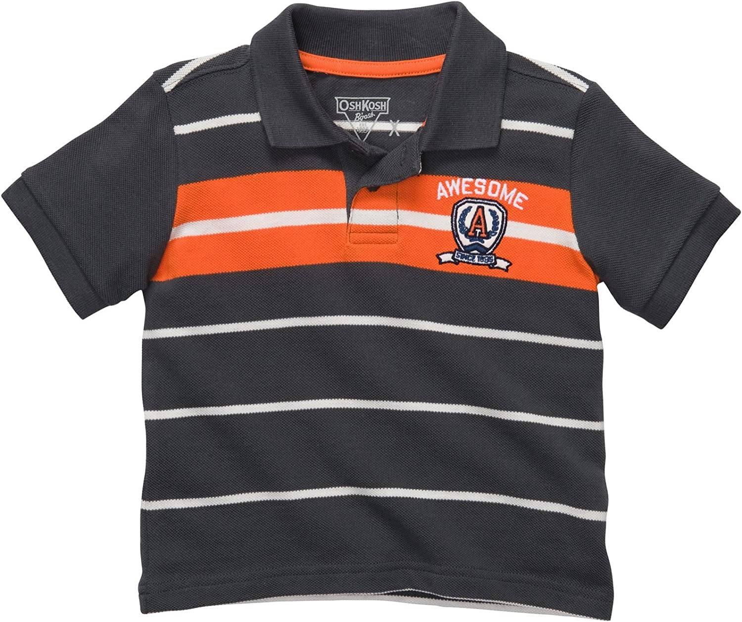 OshKosh BGosh - Polo para niño (Talla 68, 74, 80, 86), Color Gris ...