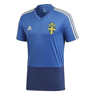 2018-2019 Sweden Adidas Training Shirt (Trace Royal)