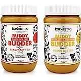 BUDDY BUDDER Bark Bistro Company, BARKIN' Banana Pumpkin PUP, Dog Peanut Butter, Healthy Dog Treats, Peanut Butter Dog Treats
