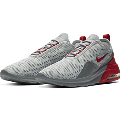 buy popular d3dcf 19e6a Nike Men s Air Max Motion 2 Running Shoe, Wolf Grey University Red Cool