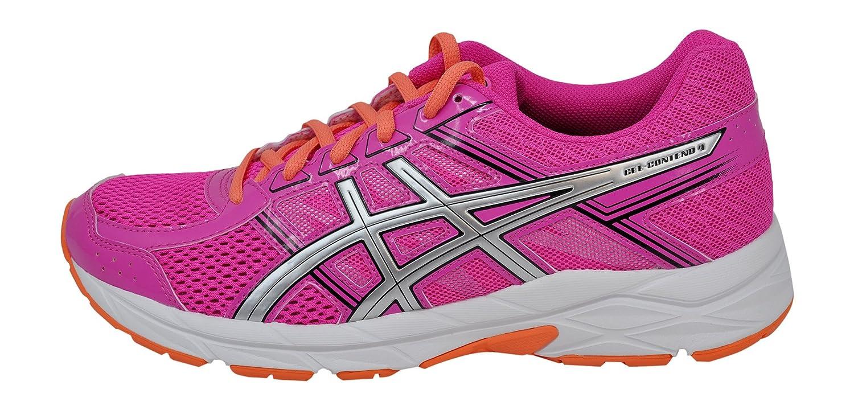 ASICS Women's Gel-Contend 4 US|Pink Running Shoe B077XN68DF 6.5 B(M) US|Pink 4 Glow/Silver/Black 0178fc