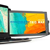 Mobile Pixels Trio Max Portable Monitor, 14'' Full HD IPS Dual or Triple monitors for laptops, USB C / USB A powered…