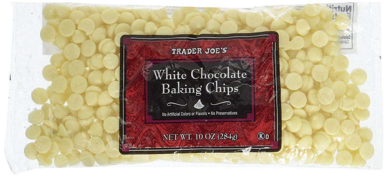 Amazon.com : Trader Joe's White Chocolate Baking Chips : Other ...