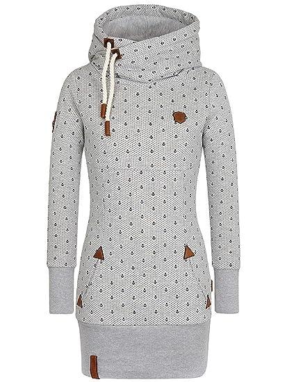 555815466 Sweater Hooded Women Naketano Lange Ankerdizzel II Hoodie: Amazon.co.uk:  Clothing