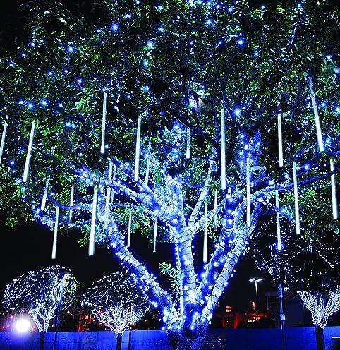 Meteor Shower Rain Lights Waterproof String for Wedding Party