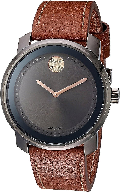Movado 3600378 - Reloj para Hombre con Placa de Iones de Metal
