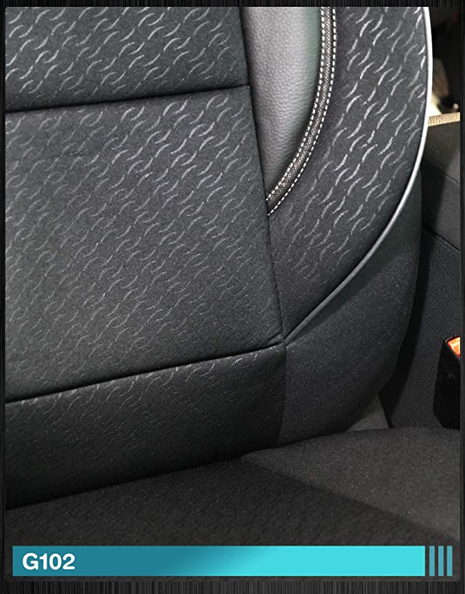 Fundas de asiento para Jeep Grand Cherokee WH a partir de 2005-2010 n/úmero de color: D101 conductor y copiloto