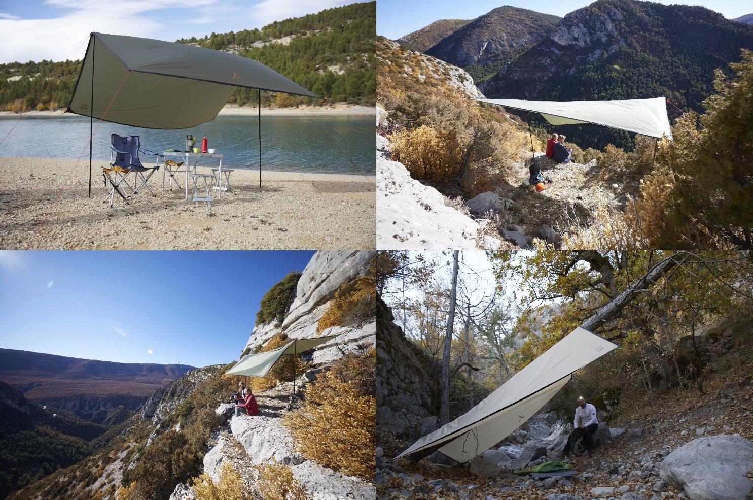 Grand Canyon Shelter 400 - Telone parasole parasole parasole con pali, prossoezione UV50, 400 x 400 cm, blu, 302301 B016OEE20E Parent | Folle Prezzo  | Caratteristico  | Il colore è molto evidente  | Good Design  480409