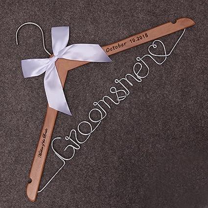 amazon com wedding dress hanger groomsmen gift groomsmen groom