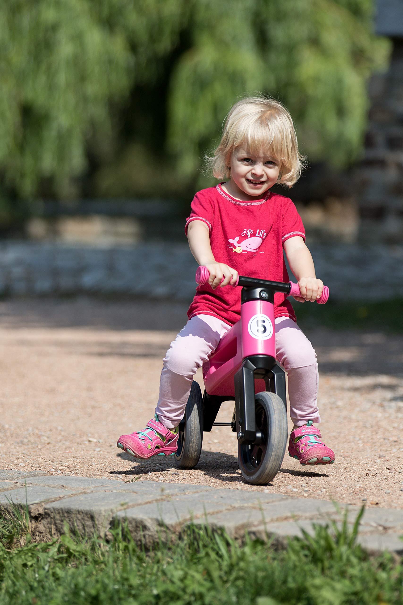 PlayMonster Free Wheelin' Rider Convertible Balance Bike, Pink by PlayMonster (Image #6)
